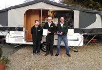 2015 Dealer of the Year Award goes to HIGHBRIDGE CARAVANS LTD