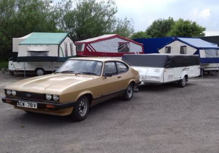 Pennine started production of Folding Campers in 1977, same year as the MK3 Capri was launched.