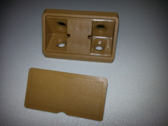Brown Corner Bracket including cover