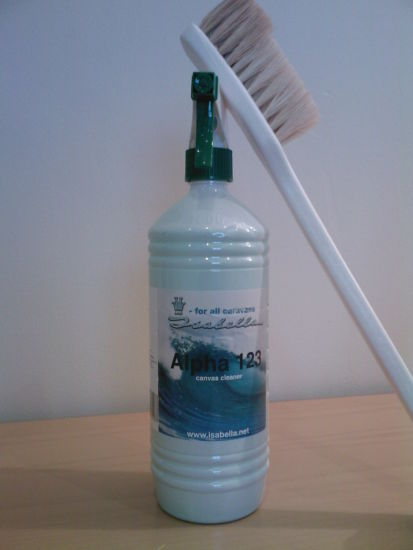 Alpha 123 Awning Cleaner