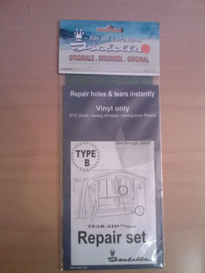 Tear-Aid Window Repair Set