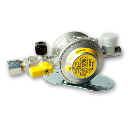 Gas -10mm Regulator without guage c/w back plate