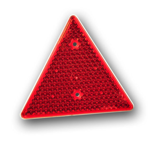 Reflector - Red Triangle